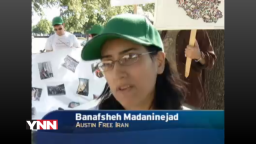 Banafsheh Madaninejad on YNN May 3, 2010